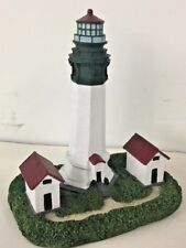 "Greys Harbor Lighthouse 7"" Tall Collectible  The Commodore's Collection"
