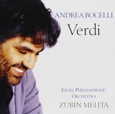 Andrea Bocelli Verdi CD NEW SEALED Classical Opera Zubin Mehta