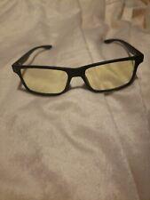 Gunnar CYP-00101-N-A Cypher Onyx Frame Computer Eyewear Glasses w// Amber Lens