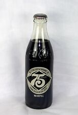 Full 10 oz Short Coke Bottle: Alabama 75th Anniversary 1903-1978