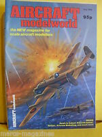 MODEL AIRCRAFT MAG AIRCRAFT MODELWORLD JULY 1984 HALIFAX MK2 BAE HAWK HARRIER T2