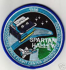 NASA HALLEY SPARTAN  PATCH -  NASA01