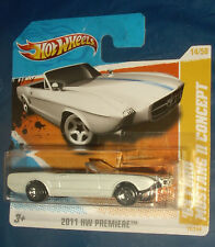 2011 Hot Wheels  '63 Ford Mustang II Concept #14 HW Premiere short card