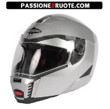 Casco modulare capacete casque helment moto Caberg Sintesi argento silver