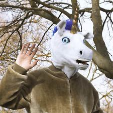 SIGNOR Unicorno Maschera con boccaglio in movimento Costume MITICO Costume