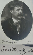 Tschechischer Maler LADA NOVAK /  Láďa Novák (1865-1944): Signiertes Foto 1926