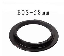 58mm Macro Lens Reverse Adapter Ring For Canon EOS EF/ EF-S lens Mount