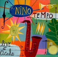 Live at Cicada by Nino Tempo (CD) JAZZ