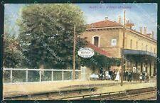 Varese Busto Arsizio Stazione cartolina QK5934