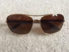 a942b417c9 Oakley Sunglasses Sanctuary OO4116-03 Gold Frames Brown Polarized Lens