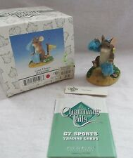 Fitz & Floyd Charming Tails Figurine (Good Cheers) 87/801