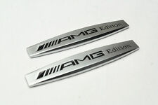 2 AMG Badge Emblème Logo Inscription badge B E C SL CLS S CL A G CLA Autocollant