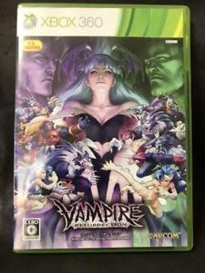 XBOX 360 Vampire Resurrection Japanese Ver. CAPCOM Japan Import