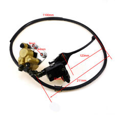 front Brake Assembly Master Cylinder Caliper 50 90 110 125cc pit bike ATV Quad K