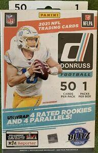 2021 Panini Donruss NFL Football card Hanger Box BRAND NEW