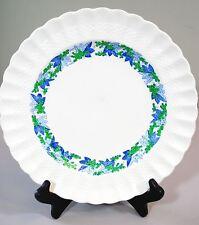 "Spode VALENCIA BLUE & GREEN GRAPES ON WHITE 10 1/2"" Dinner Plate 687814"