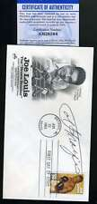 Joe Frazier PSA DNA Coa Hand Signed 1993 Joe Louis FDC Cache Autograph