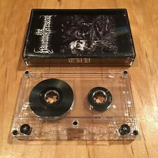 The Haunting Presence - s/t 2014 CASSETTE TAPE 1st issue nocturnal blood portal
