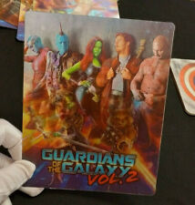 GUARDIANS OF THE GALAXY Vol 2 - Multi Image 3D Lenticular Steelbook Magnet Cover