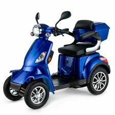 VELECO Faster 1000W Scooter Eléctrico de 4 Ruedas - Azul
