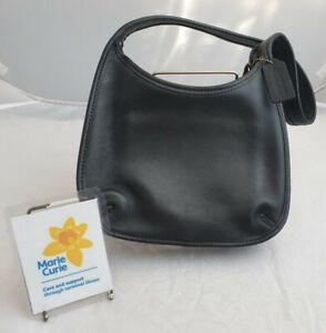 (LYM) Coach Black Leather Handbag