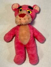 Vintage Pink Panther Plush Stuffed Animal 1980 United Artists Mighty Star