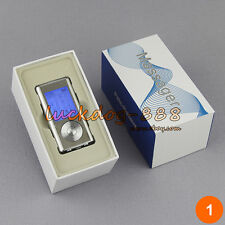 Electric Mini 8 Modes Massager Pulse TENS Therapy + 4 Adhesive Pads + Phone Box