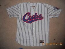 Iowa Cubs Baseball Jersey 1990s Home White Pinstripes Sewn Home Medium MiLB C@@L