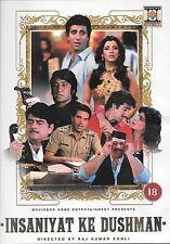 INSANIYAT KE DUSHMAN - NEW BOLLYWOOD DVD - FREE POST UK