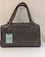 Hobo Bags Monika Leather Granite Gray Purse Shoulder Top Handle Bag New with Tag