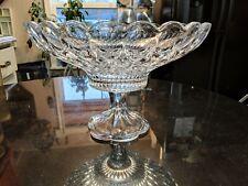 Gorgeous Antique Glass Center Piece or Fruit Bowl