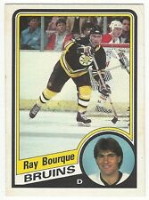 1984-85 OPC HOCKEY #1 RAY BOURQUE - VG+/EX-