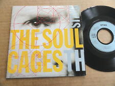 "DISQUE 45T DE STING  "" THE SOUL CAGES """