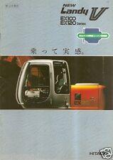 Equipment Brochure - Hitachi - Ex100 120 Landy V - Excavator - Japanese (E2255)