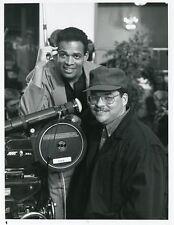 MARIO VAN PEEBLES ROY CAMPANELLA JR PORTRAIT SONNY SPOON 1988 NBC TV PHOTO