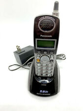 Panasonic PQLV30030ZAM Cordless Phone Handset Charger with Phone and Adapter