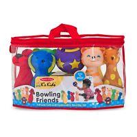 Melissa & Doug - Bowling Friends - Preschool Boys and Girls - Motor Skills