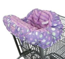 Floppy Seat Deluxe Washable Shopping Cart & High Chair Cover Carry Bag Purple