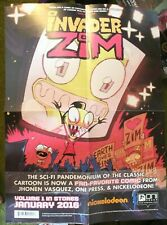 Invader Zim - Oni Press Comic Ad Poster Comic Store Promo 2016