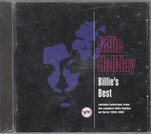 BILLIE HOLIDAY BILLIE'S BEST VERVE CD