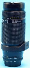 Nikon AF NIKKOR 75-300mm f/4.5-5.6 Lens  Exc++++++++W/Caps
