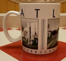 Starbucks Coffee city scenes Series Barista Atlanta mug Tea Cup Collectible ATL