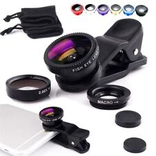 Smart Phone Camera Lens 3 In 1 Fish Eyes Lens Zoom Kit For 12 11 XS MAX X