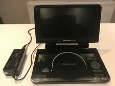 "Panasonic DVD-LS92 Portable DVD Player (9"")  MINT CONDITION, HARDLY USED."