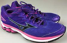 Mizuno Wave Rider 20 Purple /Pink Athletic Running Sneakers Women's Size 9
