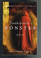 Frankenstein's Monster by Susan Heyboer O'Keefe (2010, Pback) Advance Proof