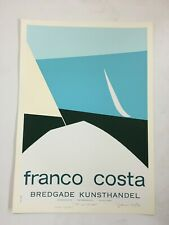 Franco Costa - Out on the Sea - America's Cup 1983 - Signed - Silkscreen