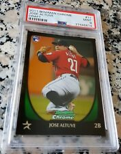 2011 Bowman Jose Altuve #11 Baseball Card