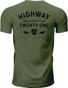 Highway 21 Men's Halliwell Tee T-Shirt (Green) XXL