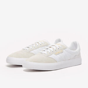 Adidas Men's 3MC White/Clear Brown/Gold Skate Shoes Trainers UK 11 EU 46